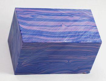 BLUE RIVER AGATE TRU-STONE BLOCK - 1.5